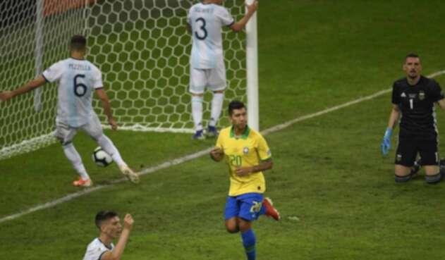 Roberto Firminho, delantero brasilero.