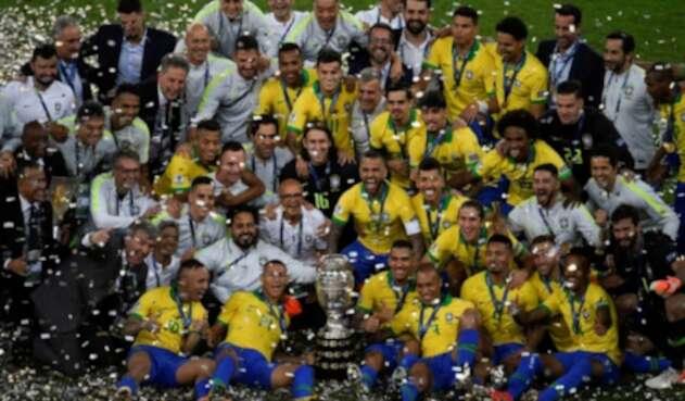 Brasil ganador de la Copa América 2019
