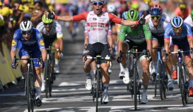 Caleb Ewan, ciclista australiano al servicio de Lotto Soudal