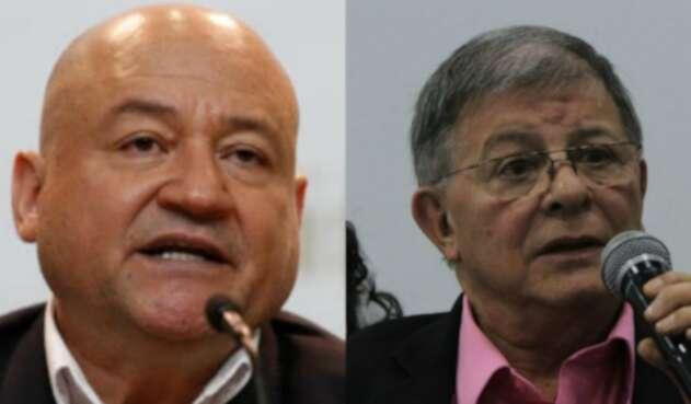 Carlos Antonio Lozada y Rodrigo Granda