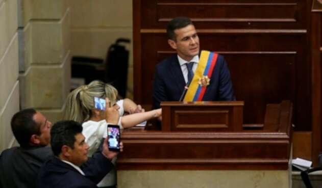 Carlos Cuenca Chaux, nuevo presidente de la Cámara de Representantes