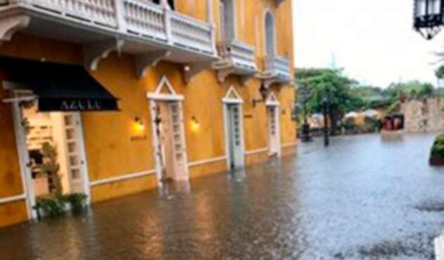 Cartagena, luego del aguacero