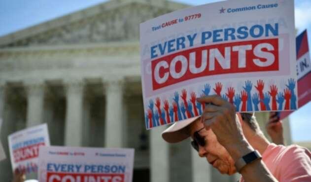 Protestas por censo 2020 en EE.UU.