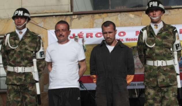 Alias Cesar y alias Gafas, los carceleros de las Farc
