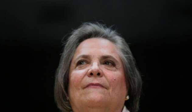 Clara López, exministra de Trabajo y candidata al Concejo de Bogotá