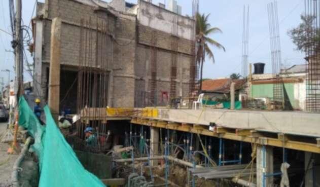 Se trata de una edificación ubicada en la Avenida El Pedregal en el Barrio Getsemaní.