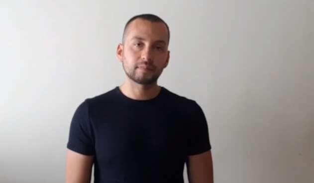 David Romero, viajero colombiano que denunció abusos en México.