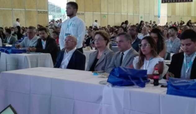 Dilma Rousseff, expresidente de Brasil, invitada especial del cuarto Congreso Internacional de Política Educativa en América Latina