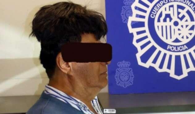 Colombiano detenido en España