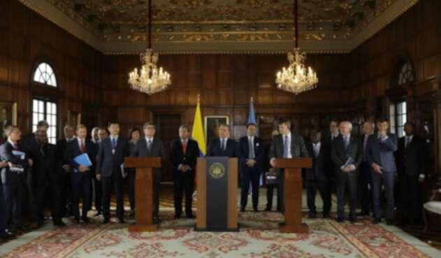 Iván Duque y la misión del Consejo de Seguridad de la ONU