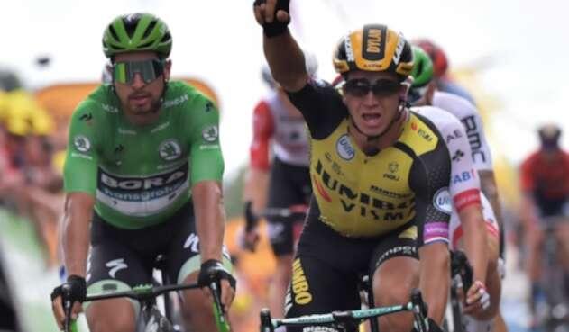 Dylan Groenewegen, ciclista holandés al servicio de Jumbo-Visma