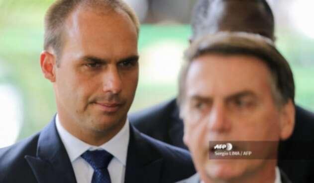 Eduardo Bolsonaro, hijo del presidente Jair Bolsonaro
