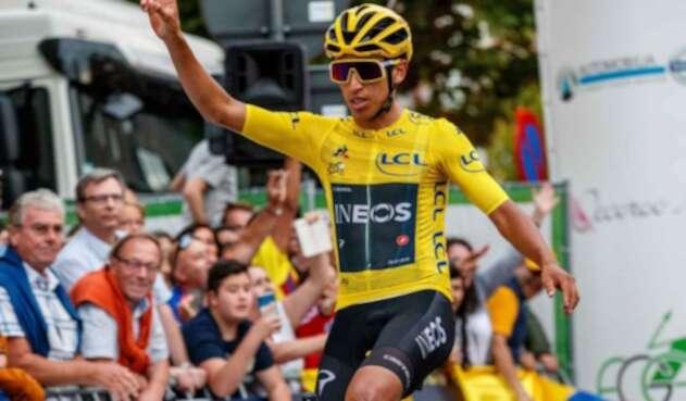 Egan Bernal, campeón del Tour de Francia.