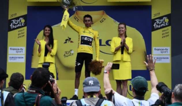 Egan Bernal, líder del Tour de Francia 2019
