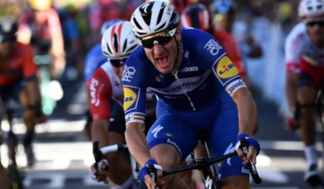 Elia Viviani, ciclista italiano al servicio de Quick Step