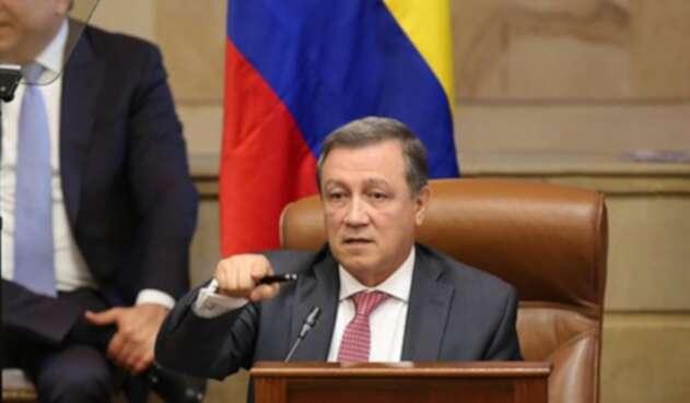 Ernesto Macías, senador del Centro Democrático.