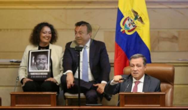Ernesto Macías en la instalación del Congreso 2019 - 2020