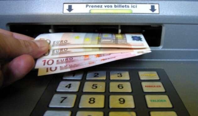 Euros billetes