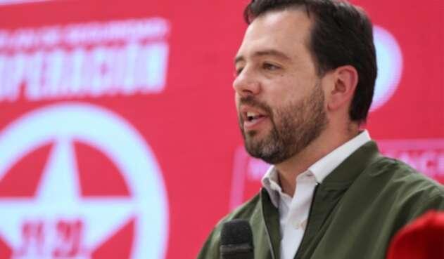 Carlos Fenando Galán inscribe candidatura a la Alcaldía de Bogotá
