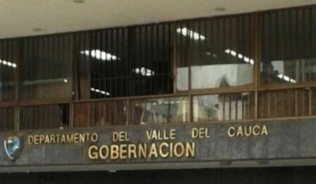 Sede Gobernación del Valle del Cauca.