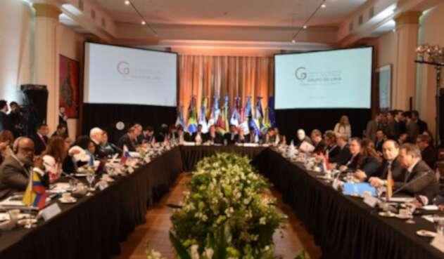 Reunión Grupo de Lima en Buenos Aires