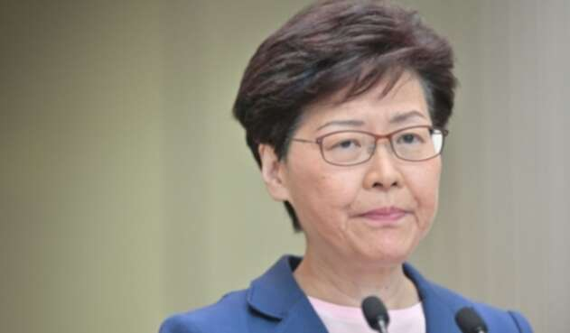 Carrie Lam, jefa del Gobierno local de Hong Kong
