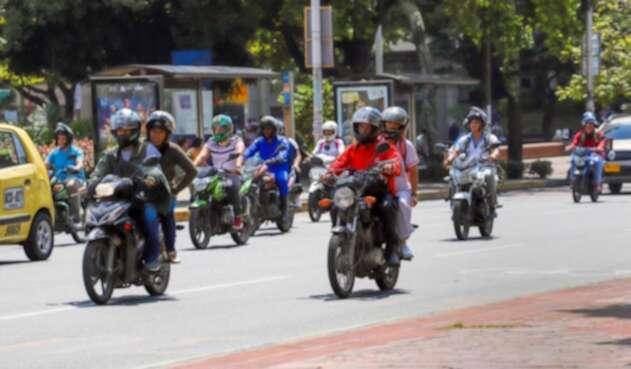 Parrillero Moto