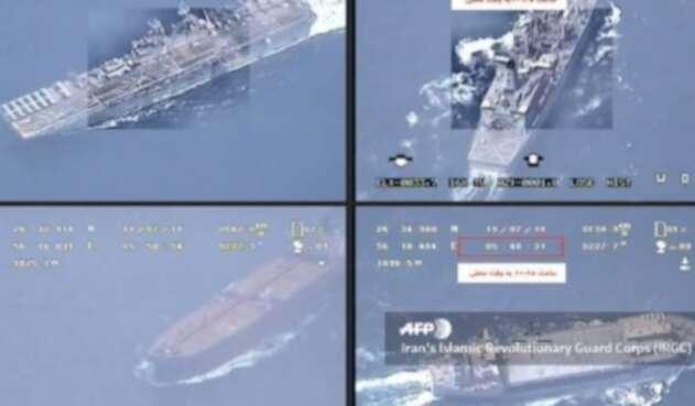 Irán captura segundo barco británico en Ormuz