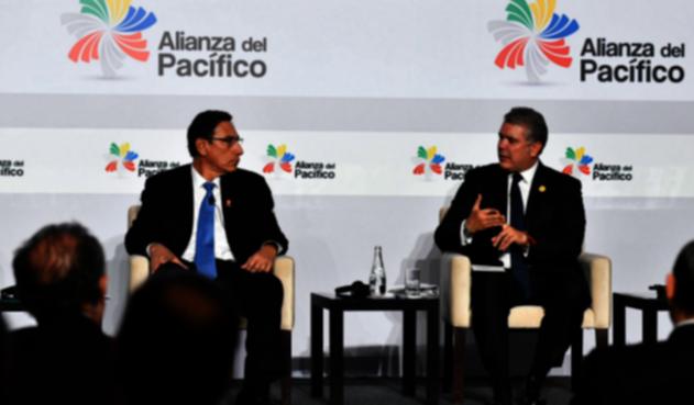 Presidente Iván Duque, aseguró desde Lima (Perú) que el sector lácteo quedará excluido de las negociaciones con los Estados Asociados