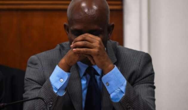 Primer ministro de Haiti, Jean-Michel Lapin.