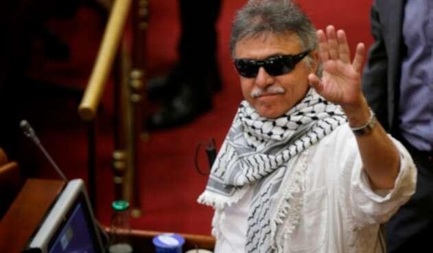 Jesús Santrich, congresista del partido Farc