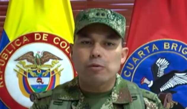 El general del Ejército Jorge Horacio Romero
