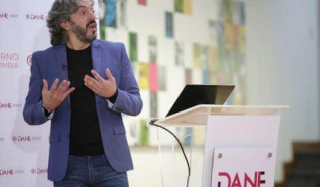 Juan Daniel Oviedo, director del Dane