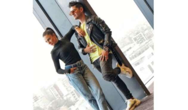 'Juanse' Quintero y Johanna Fadul