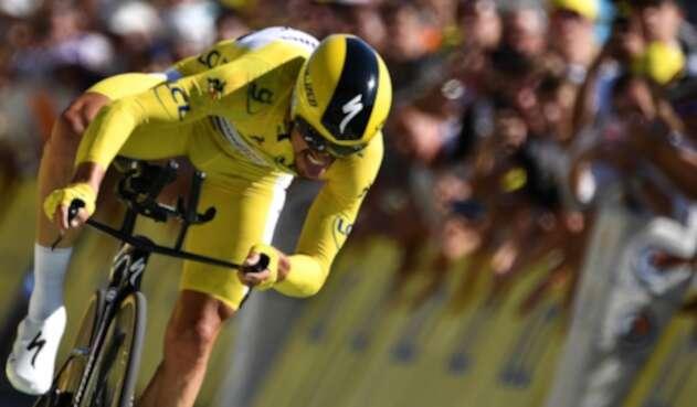 Julian Alaphilippe, ciclista francés al servicio del Deceuninck-Quick Step