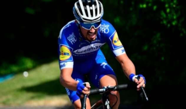 Julian Alaphilippe, ciclista francés al servicio de Deceuninck-Quick Step