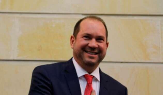 Lidio García Turbay, presidente del Senado