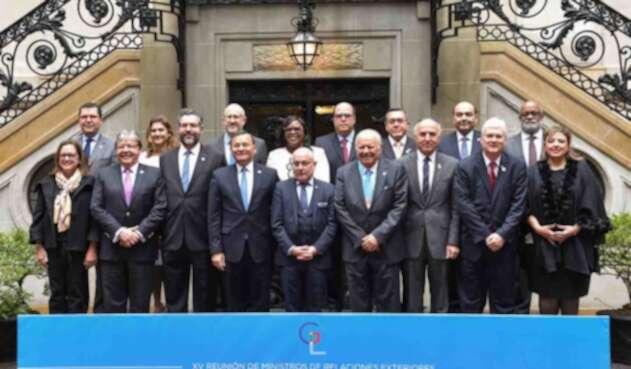 Grupo de Lima reunido en Argentina