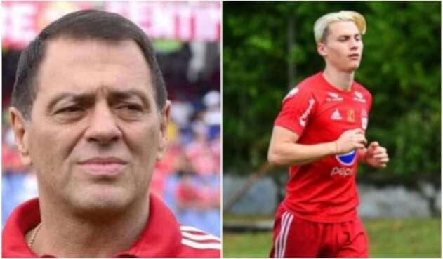 Tulio Gómez y Nicholas Llanos