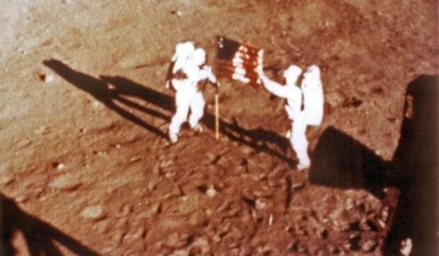 Así fue la llegada del hombre a la Luna.