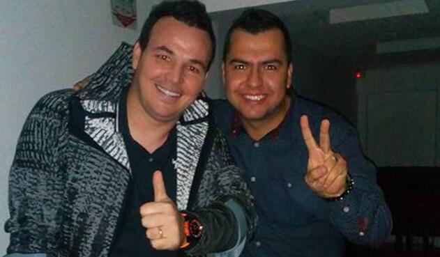 Alexis Viera y Juan David López.