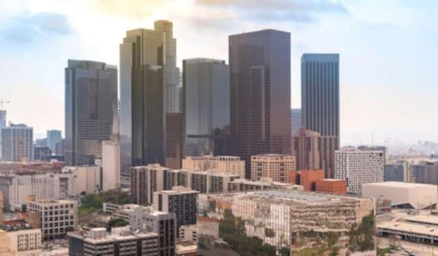 Los Ángeles, en California (Estados Unidos)