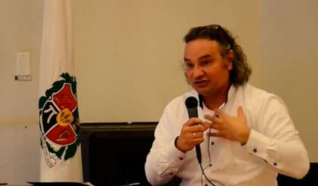 Luis Guillermo Echeverri, presidente de la Asociación Primero Colombia