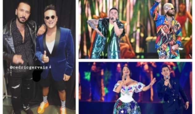 Silvestre Dangond, Maluma y Pipe Bueno en Premios Juventud 2019
