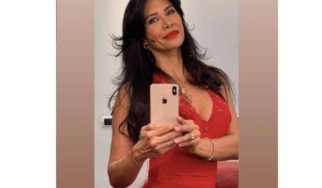 La actriz Martha Isabel Bolaños.