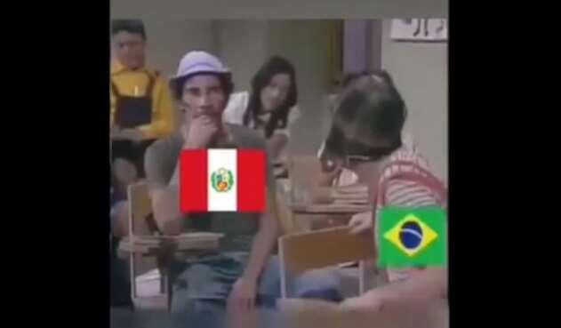 Memes  Chile vs Perú
