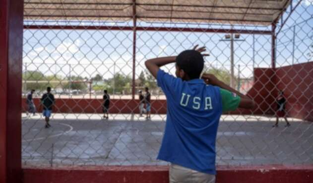 Migrante en Estados Unidos.