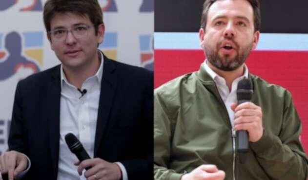 Miguel Uribe Turbay y Carlos Fernando Galán.