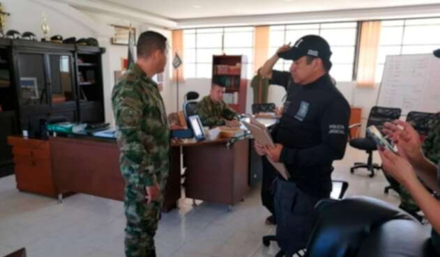 El CTI Cundinamarca en la captura de los militares