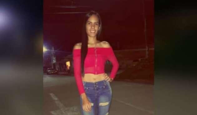 Lina María Jaramillo, de 23 años, asesinada por su expareja sentimental